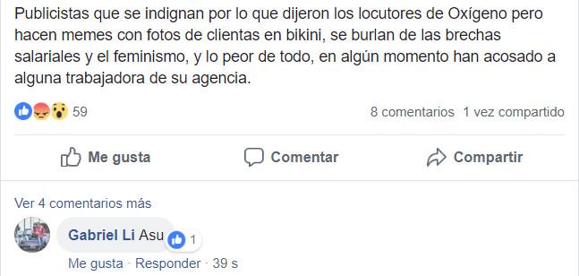 AdrianaLorenzo Denuncia acoso general