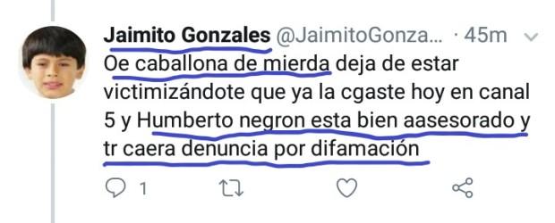 AmenzaAmigoHumbertoNegrón